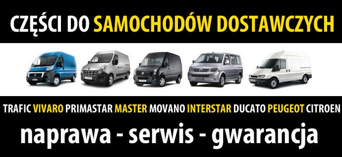 Części do samochodów dostawczych Łask